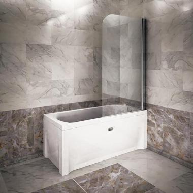 Шторка для прямоугольной ванны
