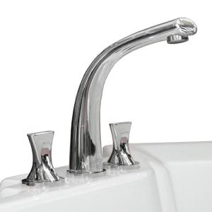 """Смеситель для ванны из пяти элементов """"Фламинго"""" Chrome"""