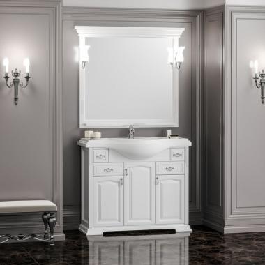 Комплект мебели Opadiris Риспекто 100 белый матовый