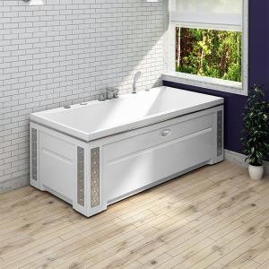 Выбор отдельностоящей ванны - материалы и цвета