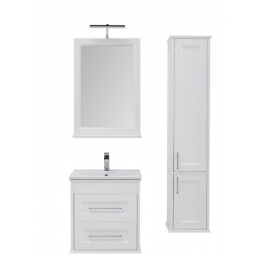 Комплект мебели для ванной Aquanet Бостон 60 ясень белый