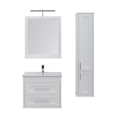 Комплект мебели для ванной Aquanet Бостон 80 ясень белый