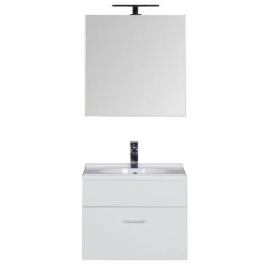 Комплект мебели для ванной Aquanet Данте 60 белый (камерино)