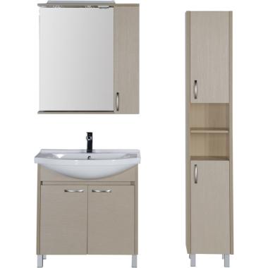 Комплект мебели для ванной Aquanet Донна 80 светлый дуб