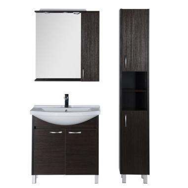 Комплект мебели для ванной Aquanet Донна 80 венге