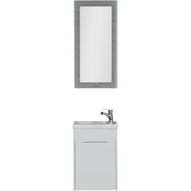 Комплект мебели для ванной Aquanet Дувр 45 белый