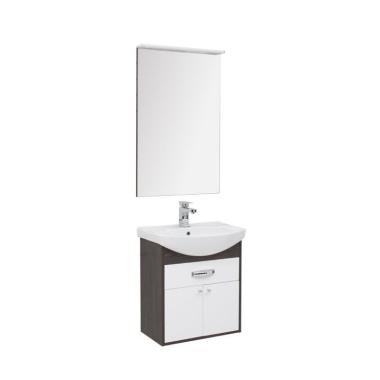 Комплект мебели для ванной Aquanet Грейс 60 дуб кантенбери/белый (1 ящик, 2 дверцы)