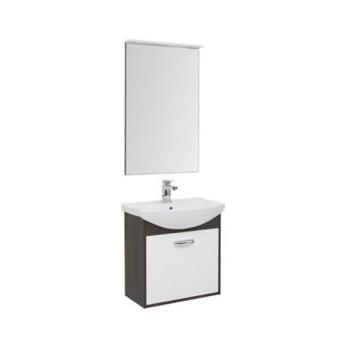 Комплект мебели для ванной Aquanet Грейс 65 дуб кантенбери/белый (1 ящик)