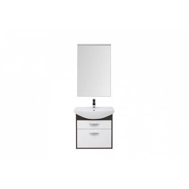 Комплект мебели для ванной Aquanet Грейс 65 дуб кантенбери/белый (2 ящика)