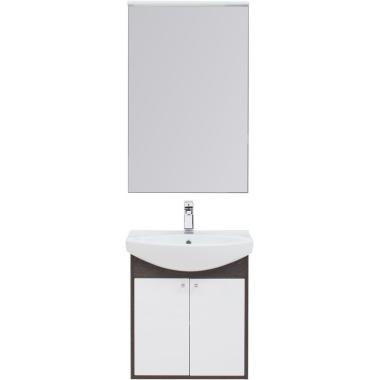 Комплект мебели для ванной Aquanet Грейс 60 дуб кантенбери/белый (2 дверцы)