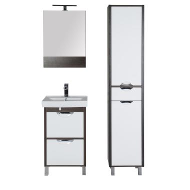 Комплект мебели для ванной Aquanet Гретта 50 венге