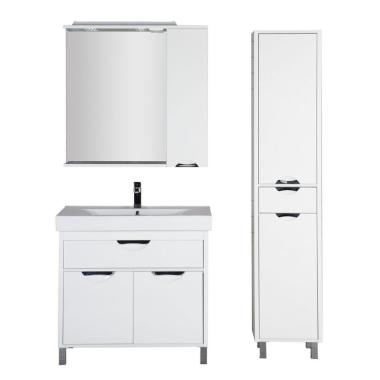 Комплект мебели для ванной Aquanet Гретта 90 белый
