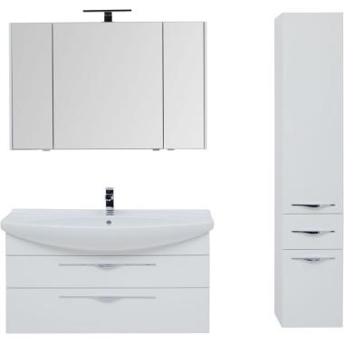 Комплект мебели для ванной Aquanet Ирвин 120 белый