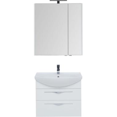 Комплект мебели для ванной Aquanet Ирвин 75 белый