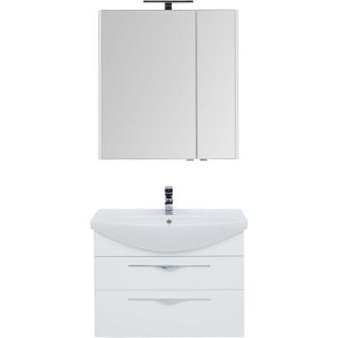 Комплект мебели для ванной Aquanet Ирвин 85 белый