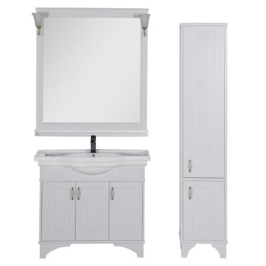 Комплект мебели для ванной Aquanet Валенса 100 белый