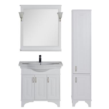 Комплект мебели для ванной Aquanet Валенса 90 белый