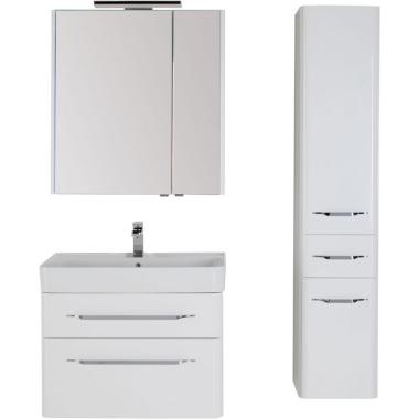 Комплект мебели для ванной Aquanet Виченца 60 белый