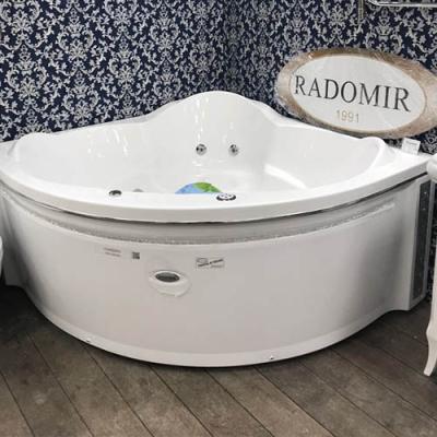 Акриловая угловая ванна Radomir Сорренто 148х148