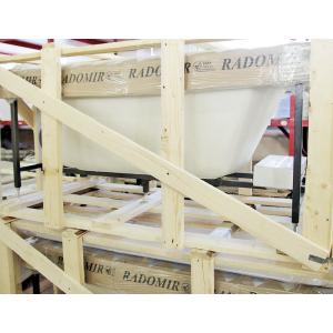 Упаковка ванны Radomir - насколько надежно отправлять акрил транспортной компанией?