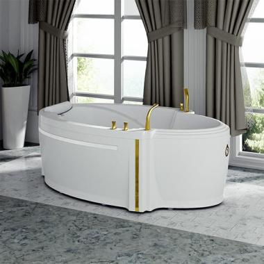 Акриловая ванна Fra Grande Ницца 190х110 с панелью