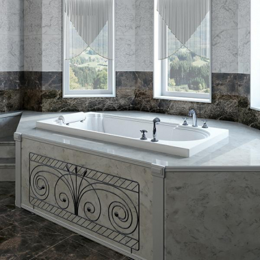 Акриловая ванна Fra Grande Анабель встраиваемая