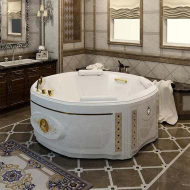 Акриловая ванна Fra Grande Фарнезе 190х190 с панелью
