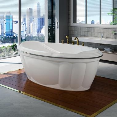 Акриловая ванна Fra Grande Гранада 185х119 с панелью