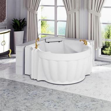 Акриловая ванна Fra Grande Монте-Карло 185х119 с панелью