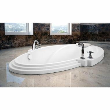 Акриловая ванна Fra Grande Ницца 190х110 встраиваемая
