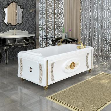 Акриловая ванна Руссильон с панелью