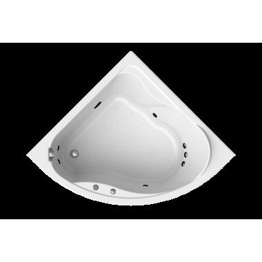 """Акриловая ванна Vannesa Альтея 125x125 с гидромассажем """"Классик"""""""