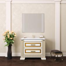 Комплект мебели Opadiris Оникс 100 слоновая кость с золотой патиной