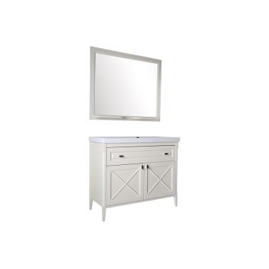 Комплект мебели ASB-Woodline Монте 100 бежевый