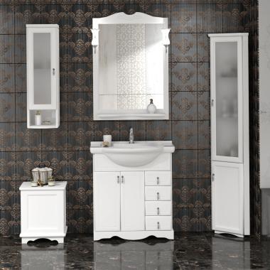 Комплект мебели Opadiris Клио 75 белый