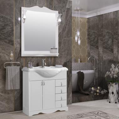 Комплект мебели Opadiris Клио 80 белый
