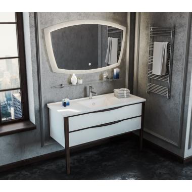 Комплект мебели Smile Риголетто 120 белый/орех