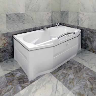 Акриловая ванна Конкорд 180x120
