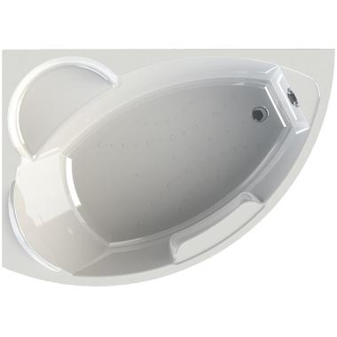 Акриловая ванна Vannesa Алари 168x120 левая