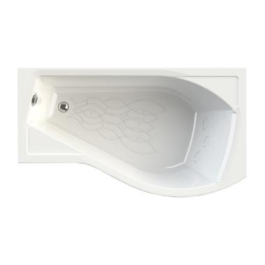 Акриловая ванна Vannesa Миранда 168x95 правая