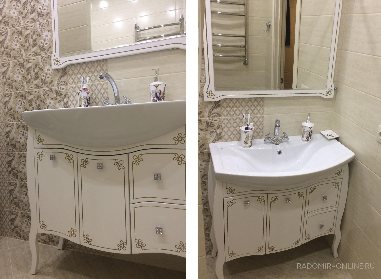 Мебель Asb Парма для ванны - radomir-online.ru
