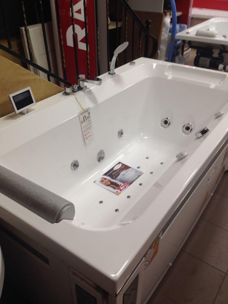 Акриловая ванна Радомир Хельга, толщиной 6 мм